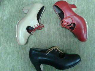 b3d41c50 Zapatos flamenco Gallardo de segunda mano en WALLAPOP