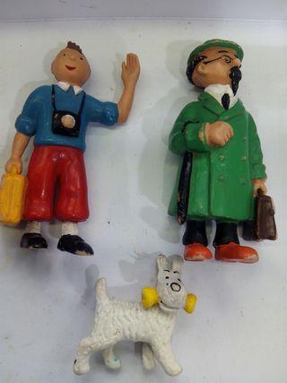 3 figuras Tintin