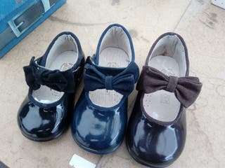 Zapato charol tallas sueltas
