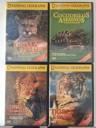 Coleccion de 8 dvd National Geographic