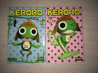 "Cómics ""Keroro"" 2 y 3 - Mine YOSHIZAKI"