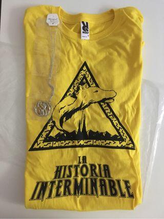 La historia interminable Camiseta + Collar Auryn