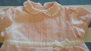 Vestido pana rosa Miranda 9 meses