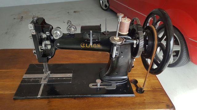 Maquina de coser cuero antigua de segunda mano por 320