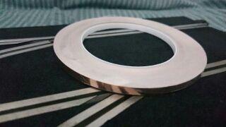 30m cinta adhesiva cobre Scalextric