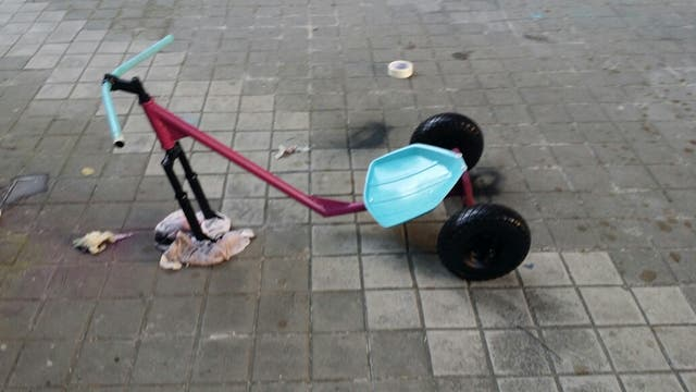Trike drif casero