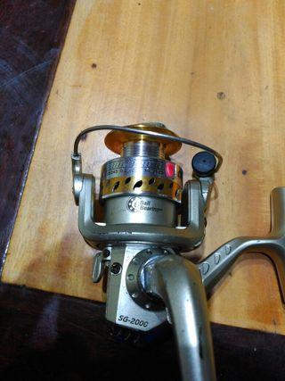 Carrete de pesca 6 rodamientos