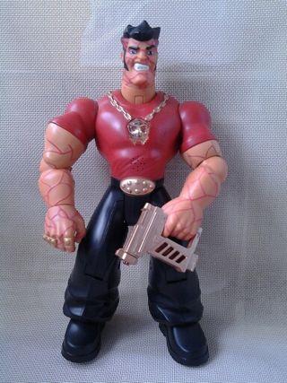 Muñeco Action Man (Hasbro 2005) con luz y sonido