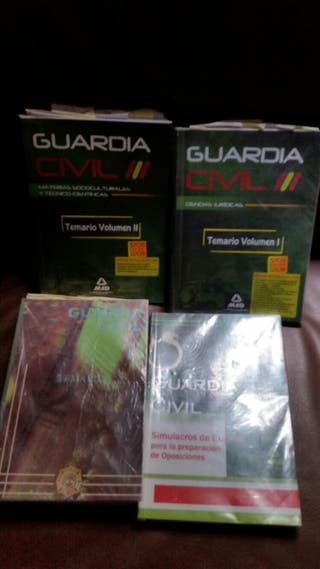 libros guardia civil