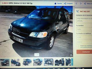 Opel Sintra 2.2 gasolina 175000km 141cv 1998 verde