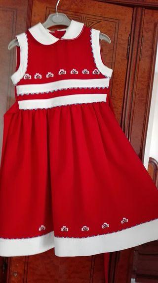 Vestido niña. Talla 7