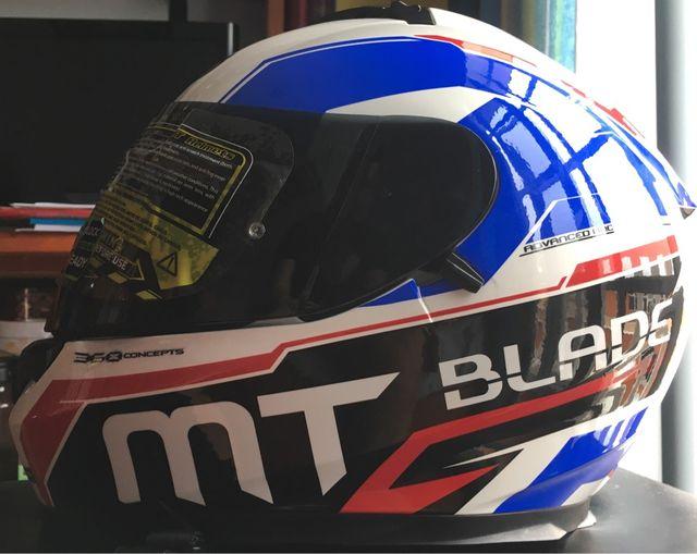 Casco Moto Mt. Talla M