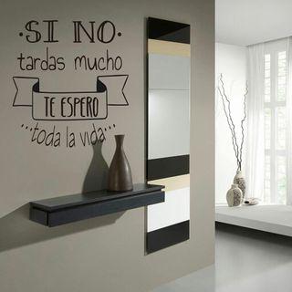 vinilos decorativos Pegatinas frases español