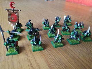 Miniaturas Warhammer 23 Goblins Nocturnos