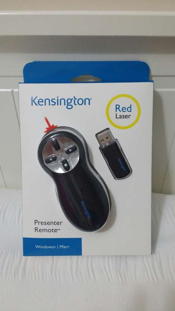 Presentador multimedia usb marca Kensington