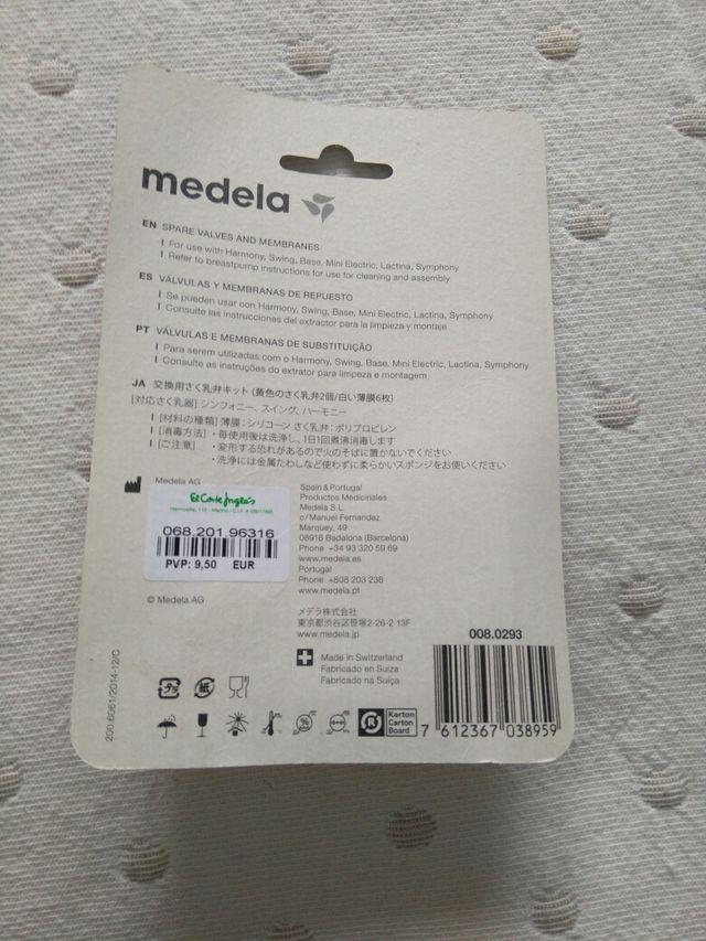 Set de válvulas y membranas Sacaleches Medela
