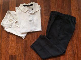 Pantalón Uniforme 4 años + REGALO 2 polos
