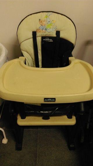 Trona bebe silla crio para comer de segunda mano por 30 en mula wallapop - Sillas de bebe de segunda mano ...