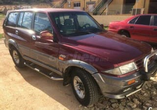 Ssangyong musso 2.9 4x4