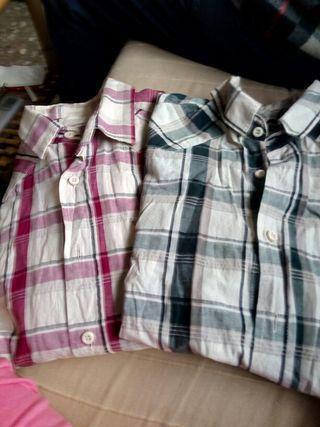 Dos camisas hombre M