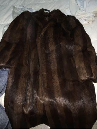 Se vende abrigo de de piel