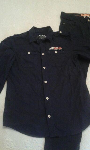 b6e412961 Camisa niño 10 11 años azul marino. de segunda mano por 3 € en ...