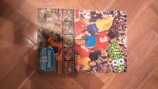 Álbum de cromos mundial 82,fútbol en acción.