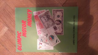 Álbum de cromos, billetes del mundo,año 86,raro.