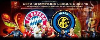 Dvd final champions 2009/2010