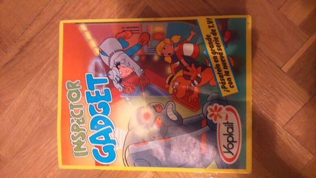 Álbum de cromos Inspector Gadget,yoplait