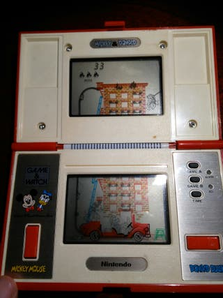 Nintendo Game & Watch . Mickey & Donald