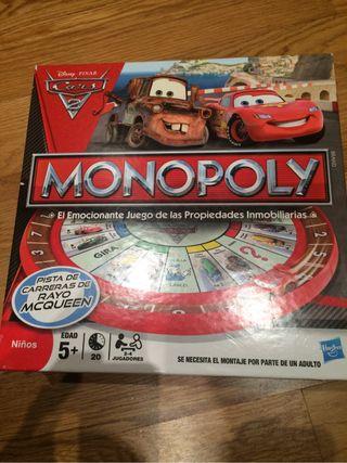 Juego Monopoli Cars niño