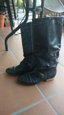 Botas marrones bershka talla 38