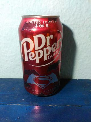 Dr Pepper- Edicion Limitada-Batman vs Superman