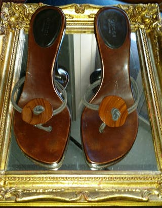 zapatos sandalias GUCCI