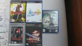 Juegos de PS2.