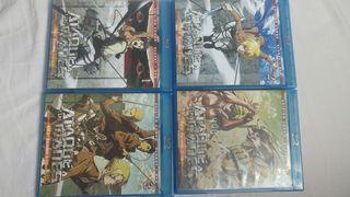 Attack On Titan DVD + BlueRay