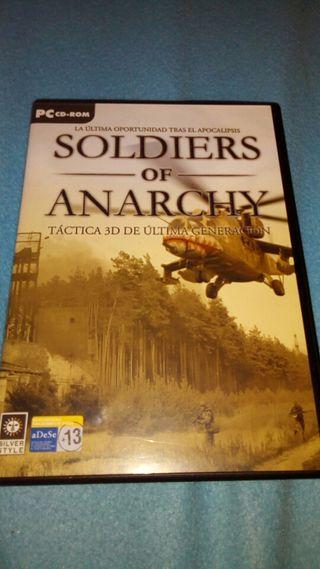 Soldiers of anarchy tactica3D DeUltimaGeneración