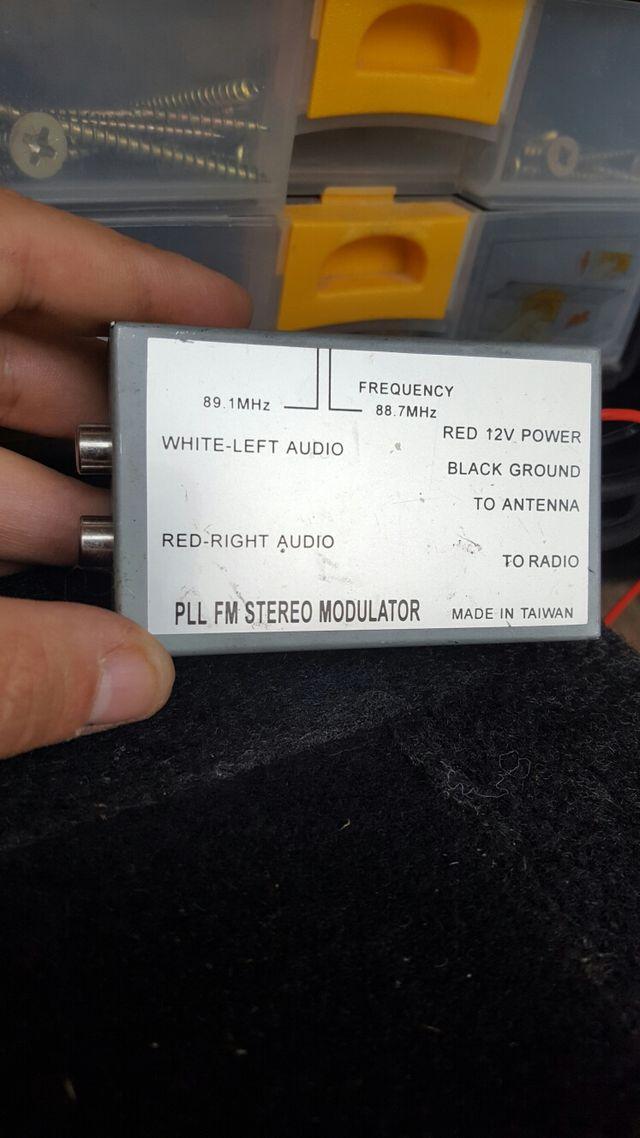 Modulador de frecuencias fm stereo