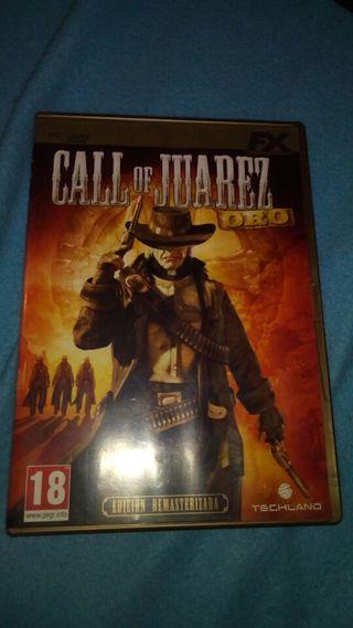 Call of juarez PC edición oro
