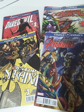 Pack marvel timely comics