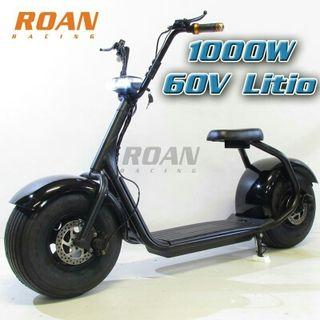 CHOPPER electrico roan 1000W 60V Litio