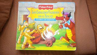 Libro infantil con sorpresas,( fisher - price)