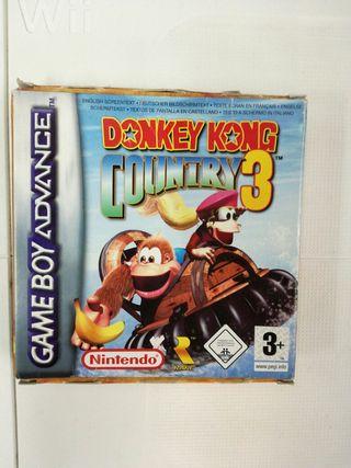 Donkey kong 3 game boy advance