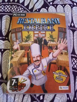 Juego de ordenador Restaurant Empire