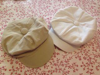 2 bonitas gorras