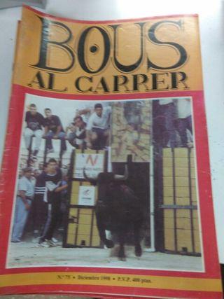 "12 Revistas de ""Bous al carrer""!!!"