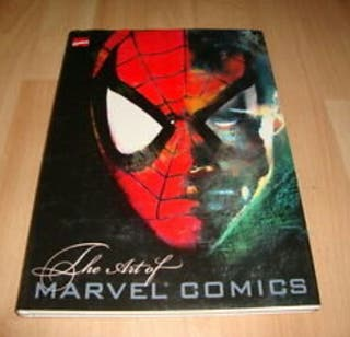 THE ART OF MARVEL COMICS