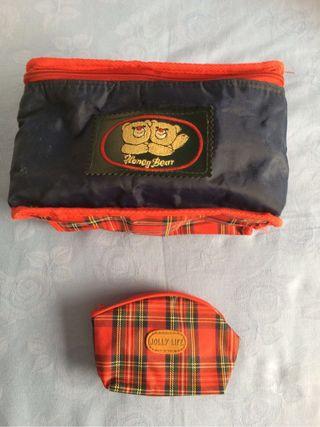 Neceser + bolsita escocesa