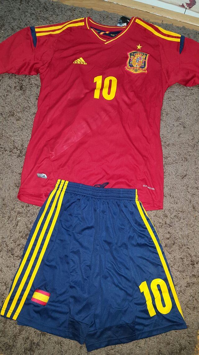 Equipación selección española euro 2012 de segunda mano ...